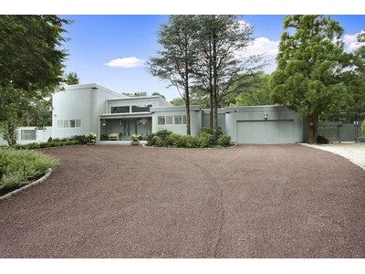 Single Family Home for sales at Contemporary in Park-like Setting 28 Fox Hollow Drive East Quogue, New York 11942 United States