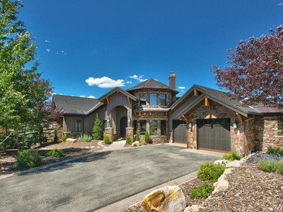 Single Family Home for sales at Promontory's Best Value, Amazing Views, Membership Deposit Included 2759 E Bitterbrush Dr  Park City, Utah 84098 United States