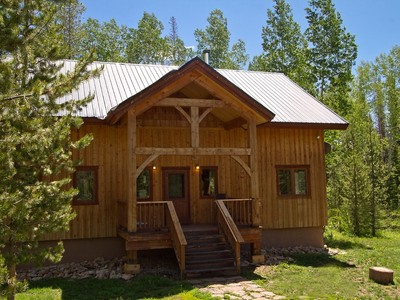 Single Family Home for sales at Timber-Frame Home 26805 Placer Place  Clark, Colorado 80428 United States