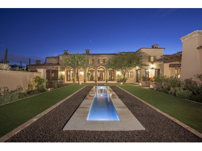 Moradia for sales at Beautifully Crafted Luxury Estate in Guard Gated Silverleaf's Upper Canyon 11038 E Saguaro Canyon Trail #1531  Scottsdale, Arizona 85255 Estados Unidos