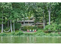 Einfamilienhaus for sales at A Modern Lakeside Masterpiece 541 Lake Drive   Princeton, New Jersey 08540 Vereinigte Staaten