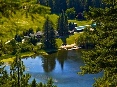 Single Family Home for sales at Almost Idaho Ranch 1481 Bench Road Newport, Washington 99156 United States