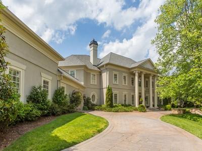 獨棟家庭住宅 for sales at Tuxedo Park Resort Estate 3594 Tuxedo Court Atlanta, 喬治亞州 30305 美國