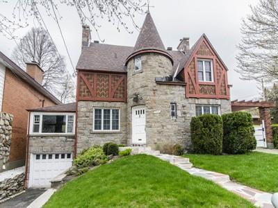 Nhà ở một gia đình for sales at Montréal 4909 Av. Roslyn Montreal, Quebec H3W2L5 Canada