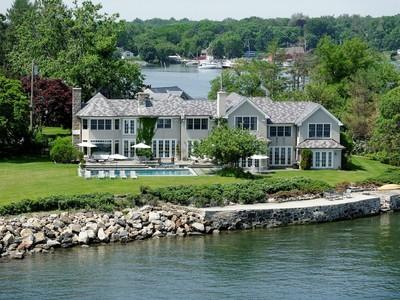 一戸建て for sales at Breathtaking Waterfront Estate 4 North Island Drive Rye, ニューヨーク 10580 アメリカ合衆国