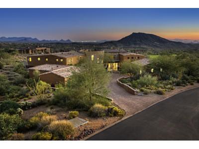 Maison unifamiliale for sales at European Elegance in Desert Mountain 9889 E Honey Mesquite Drive  Scottsdale, Arizona 85262 États-Unis