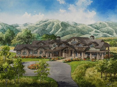 Casa Unifamiliar for sales at Modern Mountain Home in Two Creeks 4709 N Two Creeks Ln Park City, Utah 84098 Estados Unidos