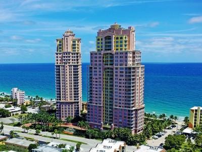 Appartement en copropriété for sales at The Palms Tower 2110 N. Ocean Bl. Unit 26A Fort Lauderdale, Florida 33305 États-Unis