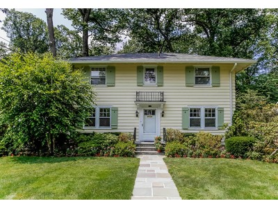 Single Family Home for sales at Classic Greenacres Colonial 157 Brewster Road Scarsdale, New York 10583 United States