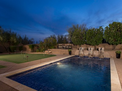Casa para uma família for sales at Gorgeous 4 Bedroom Home In The Heart Of Exclusive DC Ranch 9087 E Mountain Spring Rd  Scottsdale, Arizona 85255 Estados Unidos