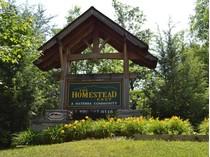 Земля for sales at Homestead in Wears Valley Lot 116E Settlers View Lane   Sevierville, Теннесси 37862 Соединенные Штаты