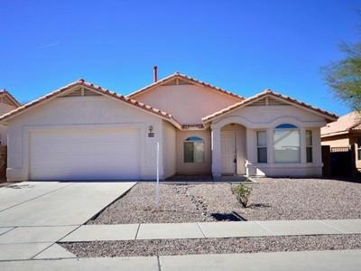 Vivienda unifamiliar for sales at Spacious 3 Bedroom on a Premium Private Lot 530 S Slate Mountain Drive Tucson, Arizona 85748 Estados Unidos