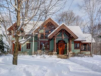 獨棟家庭住宅 for sales at Mont-Tremblant 138 Ch. du Belvédère Mont-Tremblant, 魁北克省 J8E1T7 加拿大