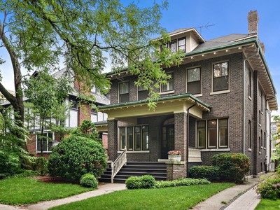 Moradia for sales at Fabulous twelve-room house located on a premier Hyde Park block 5740 S Kimbark Ave Chicago, Illinois 60637 Estados Unidos