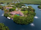 Single Family Home for  sales at Truly Unique Home at Ocean Reef 14 Harbor Island Drive Key Largo, Florida 33037 United States