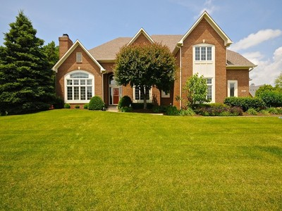 Single Family Home for sales at Spectacular Brick Residence in Cheswick Place 902 Twelve Oaks Drive Carmel, Indiana 46032 United States