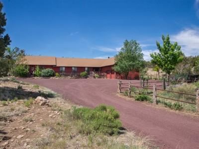 단독 가정 주택 for sales at Rancho De Los Cuatro Caballos 12840 Maverick RD  Flagstaff, 아리조나 86004 미국
