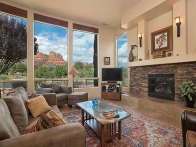 独户住宅 for sales at Spacious Home with Stunning Redrock Views 50 Brielle Lane Sedona, 亚利桑那州 86351 美国