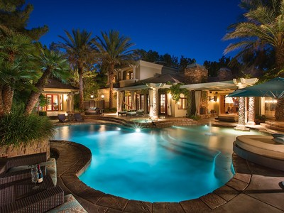 Maison unifamiliale for sales at 9816 Mountain Grove 9816 Mountain Grove Ct Las Vegas, Nevada 89134 États-Unis