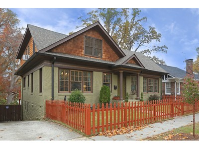 Single Family Home for sales at Renovated Bungalow is fabulous location 1132 Saint Louis Place   Atlanta, Georgia 30306 United States