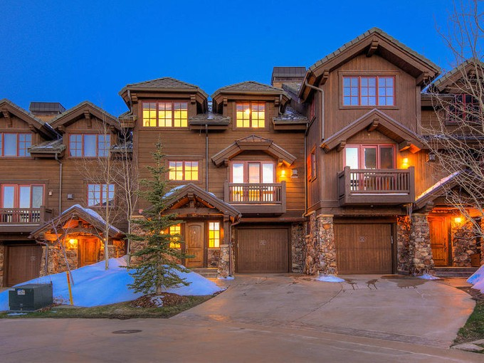 Townhouse for sales at Luxury Ski-In Ski-Out Ironwood Town Home 8789 Marsac Ave #6   Park City, Utah 84060 United States