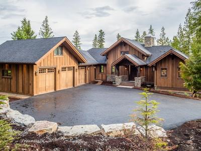 Casa para uma família for sales at 249 N Shooting Star 249 N Shooting Star Circle Whitefish, Montana 59937 Estados Unidos
