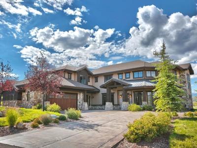 Casa Unifamiliar for sales at Beautiful completely upgraded Promontory Home 2345 E Westview Trl Park City, Utah 84098 Estados Unidos