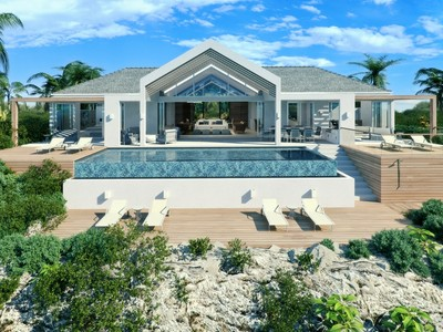Single Family Home for sales at Beach Enclave - Single Storey Villa- LOT 2 Beachfront Blue Mountain, Providenciales TC Turks And Caicos Islands