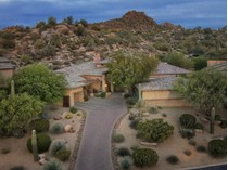 Single Family Home for sales at Executive Elegance with Sheer Privacy On An Elevated Lot in Guard-Gated Estancia 28047 N 101st Street   Scottsdale, Arizona 85262 United States