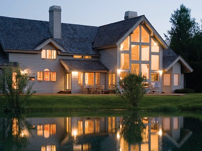 Villa for sales at Private Willowbrook Estate on Pond   Wilson, Wyoming 83014 Stati Uniti