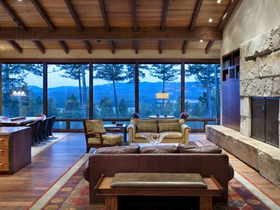 Single Family Home for sales at Remarkable Retreat on 9.73 Acres 1707 KM Ranch Road Whitefish, Montana 59937 United States