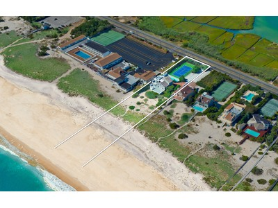 Single Family Home for sales at Oceanfront With Pool & Tennis 375 Dune Road   Westhampton Beach, New York 11978 United States