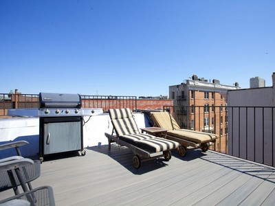 Condominium for sales at Duplex Penthouse With Private Rooftop Terrace 233 Willow Avenue 401 Hoboken, New Jersey 07030 United States