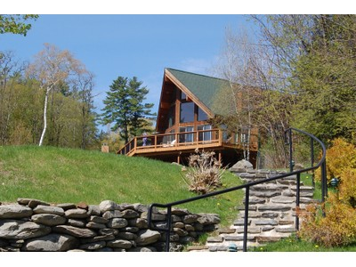 Single Family Home for sales at Adirondack Custom Chalet 51 Sunnyview Lane Lake George, New York 12845 United States
