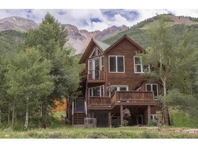 独户住宅 for sales at Heart of the Mountains 909 Porphyry Street Ophir, 科罗拉多州 81426 美国
