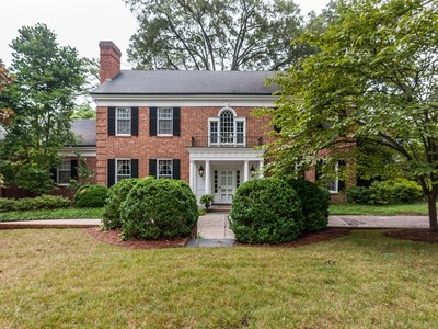Einfamilienhaus for sales at Budleigh Estate 1724 Canterbury Rd Raleigh, North Carolina 27608 Vereinigte Staaten