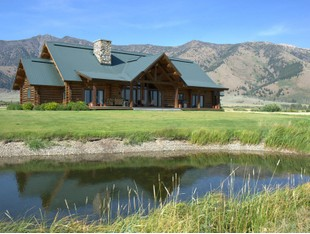 Single Family Home for sales at Henry's Lake Custom Home 5429 Canvasback Road Island Park, Idaho 83429 United States