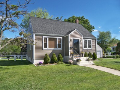 Single Family Home for sales at Meticulously Updated Black Rock Cape 108 Arthur Street Bridgeport, Connecticut 06605 United States