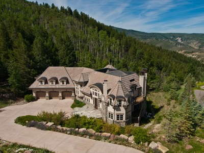 Single Family Home for  at Custom Residence in Cordillera 460 El Mirador Edwards, Colorado 81632 United States