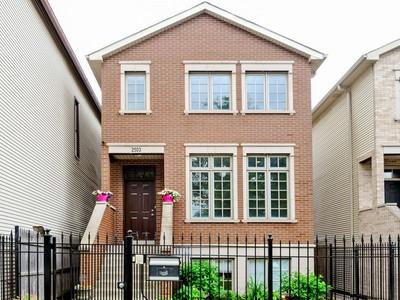 独户住宅 for sales at West Bucktown Single Family Home on Oversized Lot 2503 W Cortland Street Chicago, 伊利诺斯州 60647 美国
