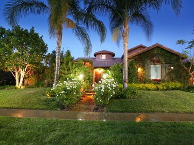 Single Family Home for sales at Tuscan Villa Estate 9616 Sagebrush Ave Chatsworth, California 91311 United States