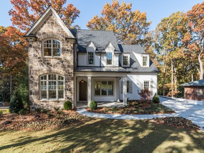 Single Family Home for sales at New Construction In Chastain Park 165 Pine Lake Drive   Sandy Springs, Georgia 30327 United States
