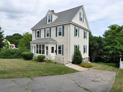 Single Family Home for sales at Antique Colonial 118 Neponset Street Norwood, Massachusetts 02062 United States