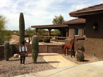 Single Family Home for sales at Quiet & Private Custom Built Hilltop Home 10585 E Sky High Drive Tucson, Arizona 85730 United States