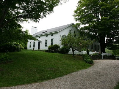 Single Family Home for sales at Lovely Antique Farmhouse on 41 Acres with Barn, Fields, Orchards, Woods, Views 50 River Road Worthington, Massachusetts 01098 United States