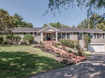 Частный односемейный дом for sales at 769 West Meade Drive   Nashville, Теннесси 37205 Соединенные Штаты
