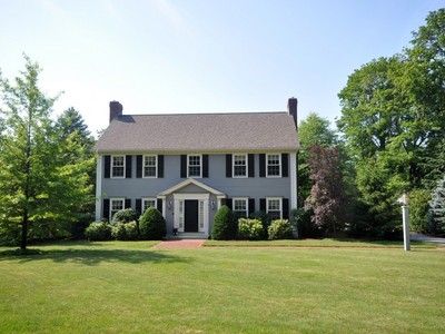 Single Family Home for sales at Extraordinary Colonial in Historic District of Concord! 490 Lexington Road Concord, Massachusetts 01742 United States