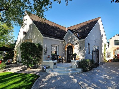 Частный односемейный дом for sales at Lovingly Renovated Willo Historic 1929 Tudor Storybook Style Home 326 W Granada Road Phoenix, Аризона 85003 Соединенные Штаты