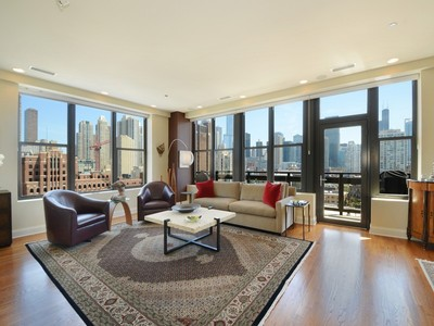 共管式独立产权公寓 for sales at Live at Parc Chestnut! 849 N Franklin Street Unit 1214  Chicago, 伊利诺斯州 60610 美国