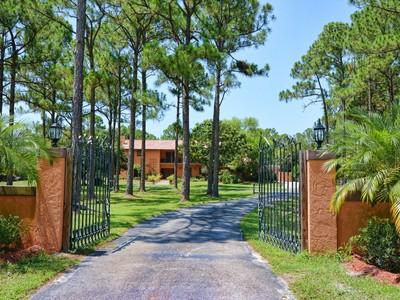 Maison unifamiliale for sales at 11333 81st Ct N  West Palm Beach, Florida 33412 États-Unis